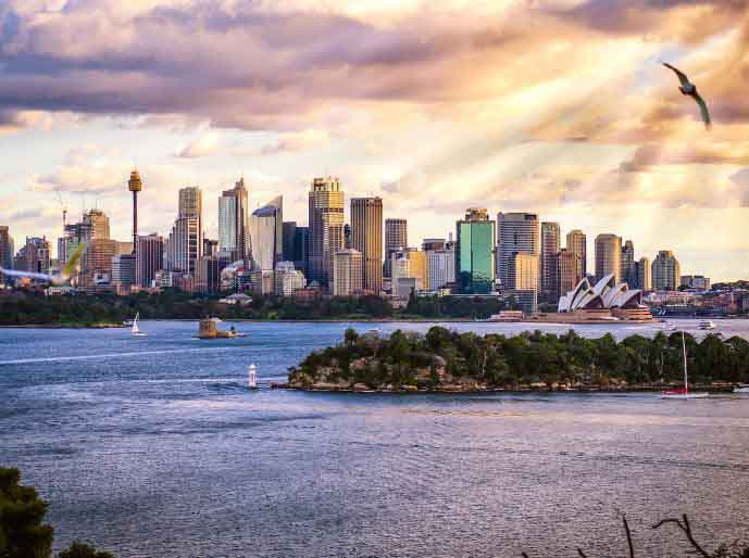 7 ways to cut down spending - sydney skyline