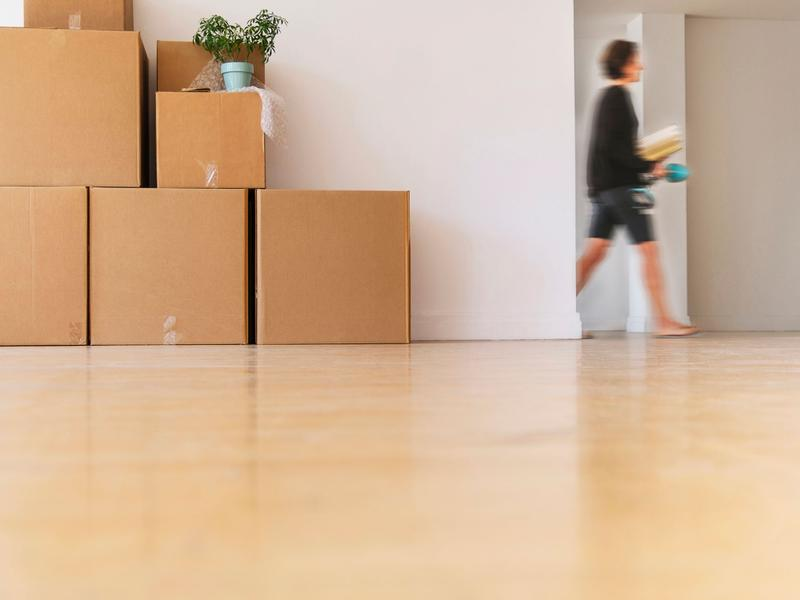How to find the perfect tenant for your first property_Pic1 - moving boxes