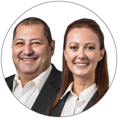 Fred and Kristy Alam from RAMS Kogarah