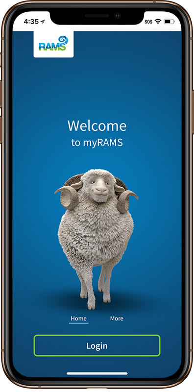 Login to myRAMS