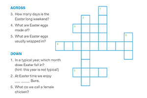 KAC - Easter crossword