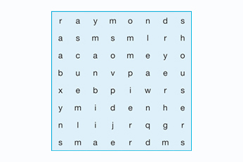 KAC - find a word small