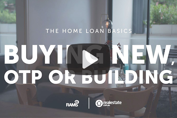 Buying new off the plan or building