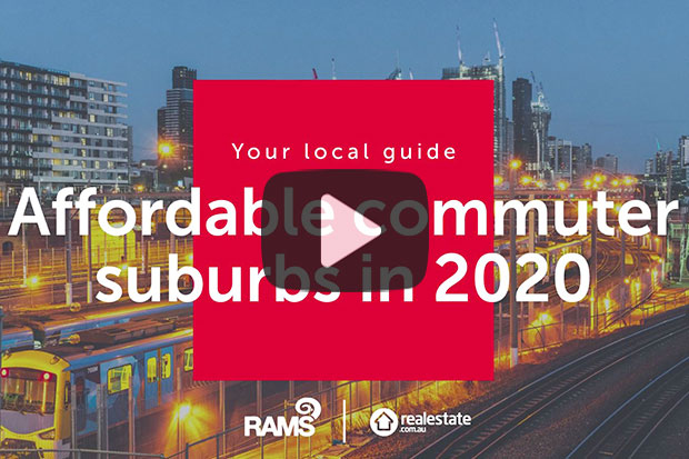 Affordable commuter suburbs in 2020
