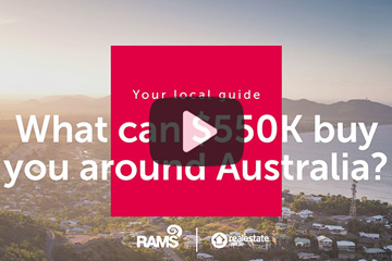 What $550k can buy you around Australia