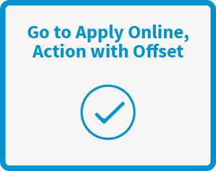 Go to Apply Online, Action with Offset